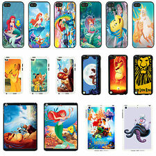 The Little Mermaid & The Lion King cover case for Apple iPhone iPod &