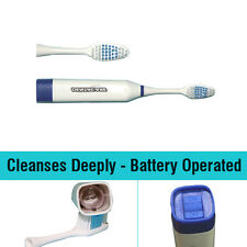 New Clean Vibe Battery Operated Whitening Tooth Brush Dental Care Kit Gums Kids