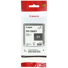 GENUINE ORIGINAL CANON PFI-106GY GREY INK CARTRIDGE (6630B001AA)
