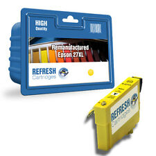 REMANUFACTURED 27XL (NON GENUINE) HIGH CAPACITY YELLOW INK CARTRIDGE FOR EPSON