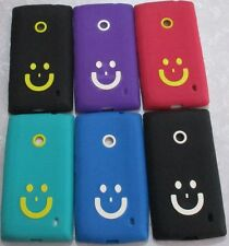 Nokia Lumia 520 525 Soft Silicon Back Cover Cases/Tempered Guard