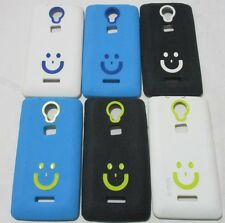 Micromax Canvas Fun A 76 Soft Silicon Smiley Back Cover Cases
