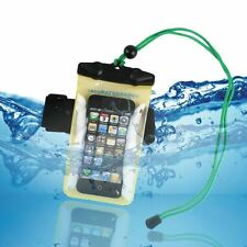 UK Clear Snow Waterproof Underwater Dry pouch Case Bag For iPhone 4 5
