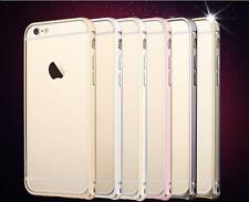 Luxury Aluminum Ultra thin Metal Frame Bumper Case Cover for Apple iPh