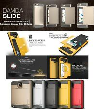 Verus Damda Slide Case Armor Cover with 2 Card Storage Iphone 6 6+ & S