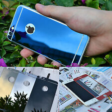 Front+Back Mirror Effect Tempered Glass Screen Protector Case For iPho