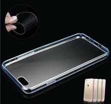CLEAR Hard Back Silicone TPU Bumper Case Cover For  Apple iPhone 4 5/5
