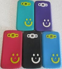 Samsung Galaxy Grand 2 G7102/7106 Soft Silicon Smiley Back Cover Cases