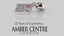 PANDORA STERLING SILVER S925ALE-HOLIDAY GREETINGS PENDANT CHARM-791711ENMX