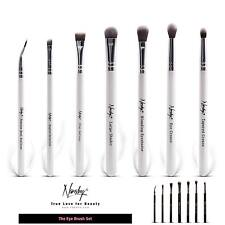 Eye Brushes Nanshy- Blending Crease Shader Flat Definer Angled Detailer Eyeliner