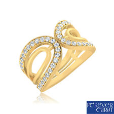 Certified 0.45 Ct Natural Diamond Ring 14K Hallmarked Gold Diamond Jewellery