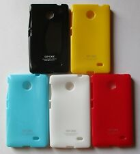 Nokia X Soft Silicon Mobile Back Cover Cases/Screen Guard