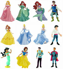 Bullyland Disney Princess Figures Cake Toppers Cinderella Belle Ariel Snow White