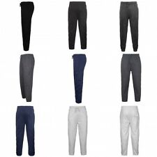 Mens Fleece Long Jogging Bottoms For Training & Casual  New Trousers Pants All S