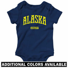 Alaska Represent One Piece - Nanooks Crab Baby Infant Creeper Romper - NB to 24M