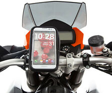 Motorcycle Handlebar Bolt Mount + Water Resistant Case for Sony Xperia