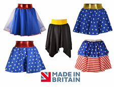 Superhero Skirts, Costume - Captain America/Spiderman/Batman/Wonder Woman Style