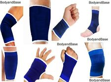 Elastic Supports Knee Elbow Ankle Palm Wrist Thigh Calf Supports Single or Pair