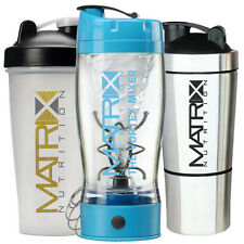 MATRIX NUTRITION PROTEIN SHAKERS - VORTEX MIXER - PROTEIN SHAKER - ALL COLOURS