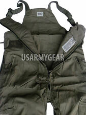 US Army Air Force Thick Insulated Nomex Overalls Cold Weather Pants CVC BIB USED