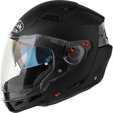 CASCO HELMET MODULARE AIROH 2016 EXECUTIVE COLOR BLACK MATT NERO OPACO MOTO