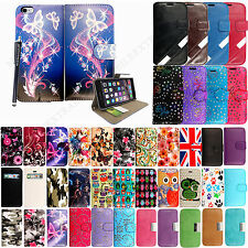 Wallet Flip Leather Protective Case Cover For Apple iPhone 5 6 6s 6+ P