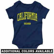 California Represent One Piece - Golden Bears Baby Infant Creeper Romper NB-24M