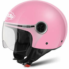 CASCO HELMET JUNIOR AIROH 2016 FREE JUNIOR LADY PINK GLOSS ROSA LUCIDO MOTO