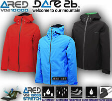 Dare2b Jacket Encircle Mens Stretch Shell Waterproof Hiking Outdoor Light Weight