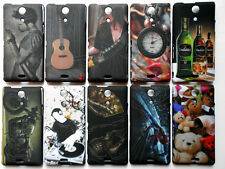 Designer Back Case Cover for Sony Xperia ZR M36H Hard Night-Glow Touchfeel