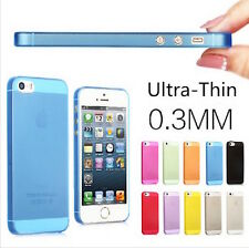 Per Apple iPhone 5 5S COVER ULTRA SOTTILE 0.3MM CUSTODIA BUMPER SLIM CASE THIN