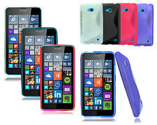 FOR NOKIA ASHA MICROSOFT LUMIA MODELS NEW GEL SILICONE PHONE CASE COVE