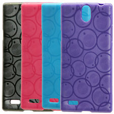 For XOLO Q1010 / Q1010i Designer Vivid Coloured Soft Silicon Back Case Cover