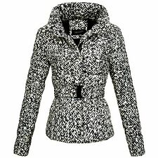 OS-Fashion Damen Winterjacke Parka Jacke Mantel Wolljacke Look 161513