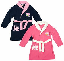 Girls Dressing Gown Official Despicable Me Bathrobe Minions Heart 3 4 6 8 Years