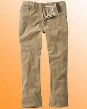 New  Paul Berman Mens Cord Jeans Trousers  31in Size 50R Camel 50 R