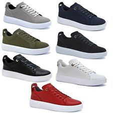 New Mens Black Shoes Grey Boys Skate Designer Lace Up White Casual Navy Trainers