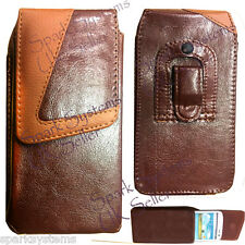 PU Leather Belt Pouch Case cover for Cel Phone PDA MP3 iPod Belt Loop Clip Pouch
