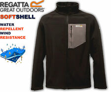 Mens Jacket Regatta Softshell Warm Windproof Stretch Outdoor South Bank Fleece