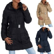 H434 Damen Winter Jacke Steppjacke Parka Jacket Daunen Look Winterjacke