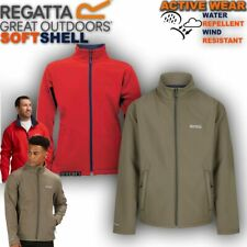 Regatta Mens Jacket Cera Softshell Fleece Hiking Gym Running Outdoor Working Top