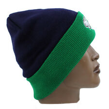 MANI ROLL-UP pompon pompon Sci Beanie Cappello Navy