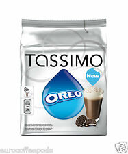 Tassimo Oreo Hot Chocolate T-Discs Choose From 1- 5 Packs x 16 T-Disc