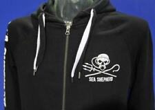 Black Zip Dive Hoodie Dive Jolly Roger Sea Shepherd