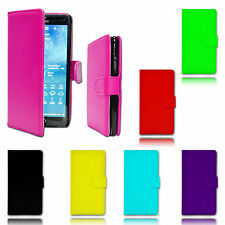 Magnetic Wallet Flip Book Holder Leather Pu Case Cover For Samsung Galaxy Phones