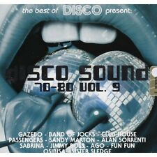 DISCO SOUND 70/80 VOL. 9 CD AUDIO MUSICA NUOVO - FONTE RECORDS-234097