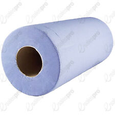 "Hygiene couch rolls wipes BLUE 24cm 9.5"" 2ply Singles / multi buys Fine Touch"