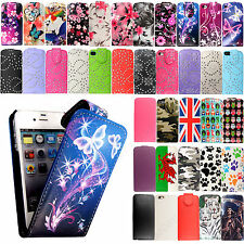 *Flip Wallet Leather Case Cover For Apple iPhone 5 5S 6 6S & 6 Plus &