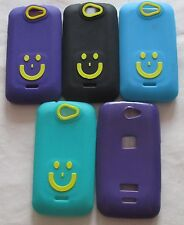 Micromax Bolt A 47 Soft Silicon Smiley Back Cover Cases