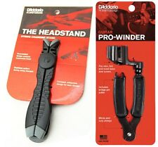 D'Addario Planet Wave - Headstand and Pro String Winder tools to aid re-strings